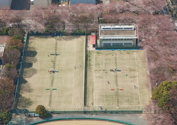 武蔵野市営庭球場