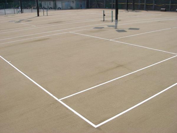三鷹市立第一中学校テニスコート