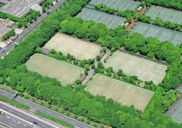 有明緑道公園庭球場
